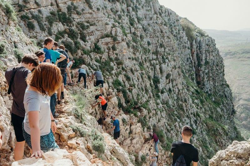 Israel-Cliff