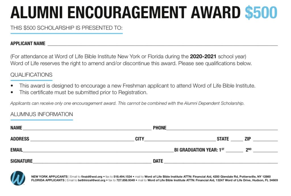 Alumni-Encouragement-Certificate-2019